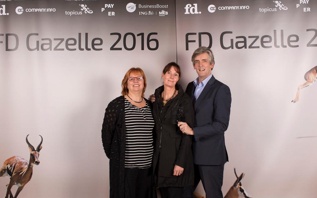 Bonte Bij wint FD Gazellen Award 2016
